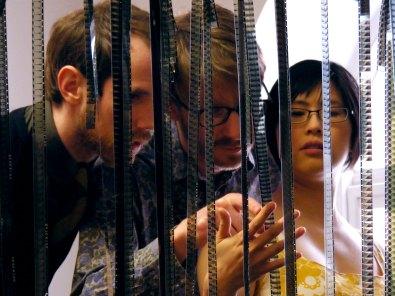 HK60s examine filmstrips