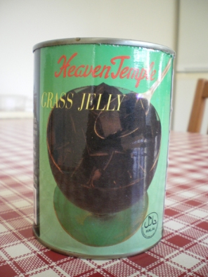 grass jelly tin