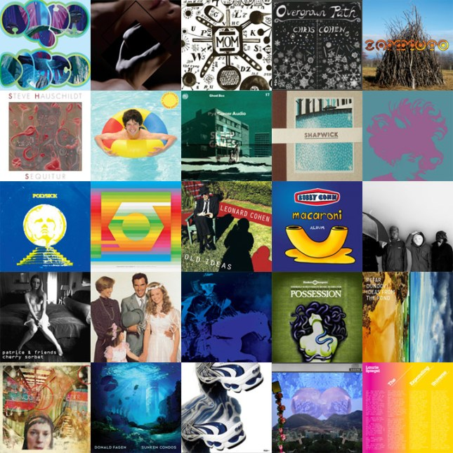 2012 - albums of the year